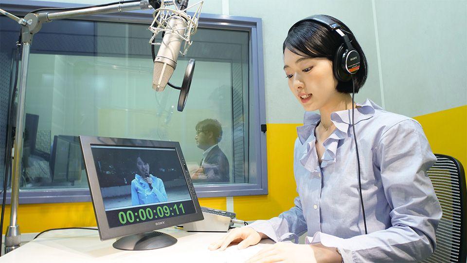 テレビ・ラジオで活躍するナレーターが多数在籍